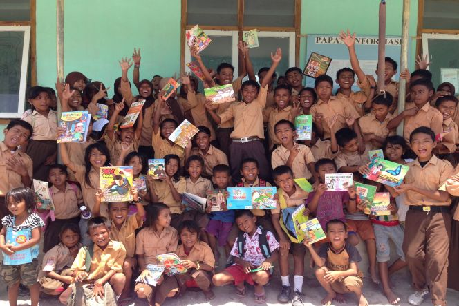 Books For Messah (Taman Bacaan Pelangi)