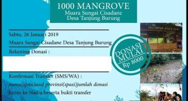 1000 Mangrove untuk Muara Sungai Cisadane