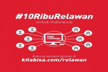 10.000 Relawan untuk Indonesia!