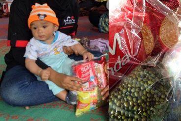 Nutrisi Bayi dan Balita Pengungsi Sinabung