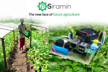 SIRAMIN - Sistem Penyiram dan Pemupukan Otomatis