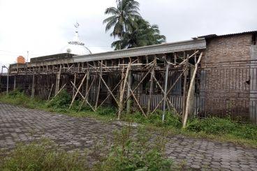 Pembangunan Masjid Al jannah yang terhenti