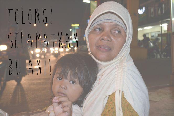 Tolong! Selamatkan Ibu Ani!