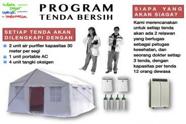 Udara Segar Untuk Indonesia - Tenda Sehat No. 1