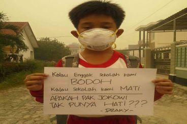 Aksi Nyata Bantu Korban Asap bersama FanPage JONRU