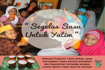 Gerakan Susu Untuk Yatim