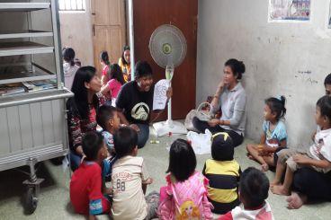 Bantu Anak Rumah Belajar Senen Cerdas dan Bahagia!