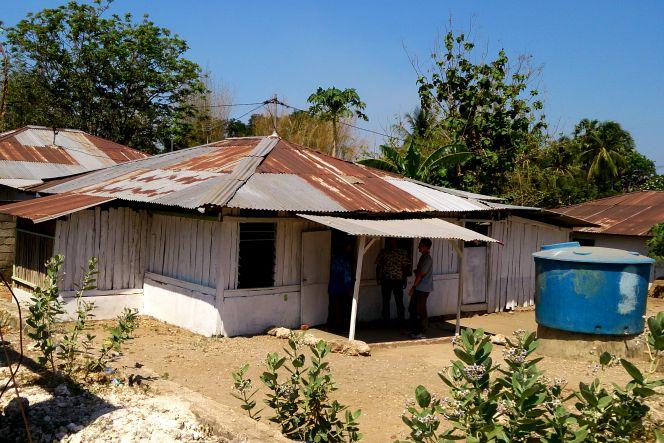 Masjid untuk warga muslim desa Batuplat Kupang-NTT