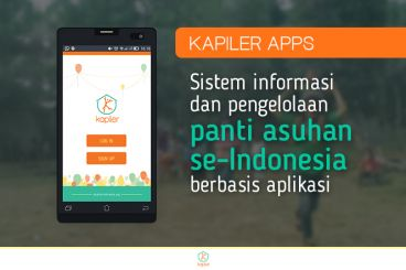 Dukung Kapiler: Aplikasi Peduli Panti Asuhan
