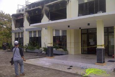 Kebakaran di Pondok Pesantren