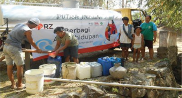 Bantu Dhuafa Memiliki Akses Air Bersih