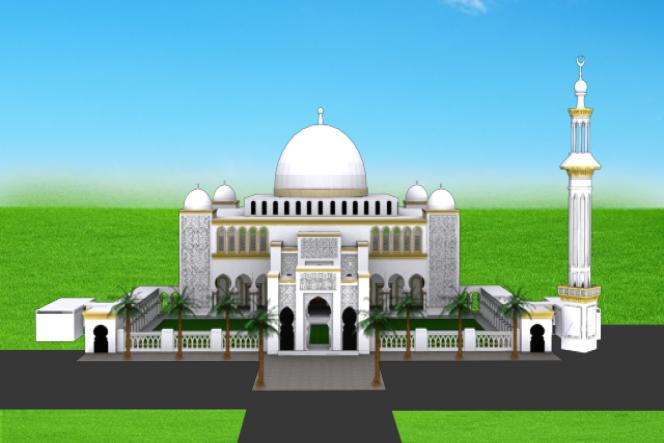 Pembanguan Mesjid Terbesar Di Lampung