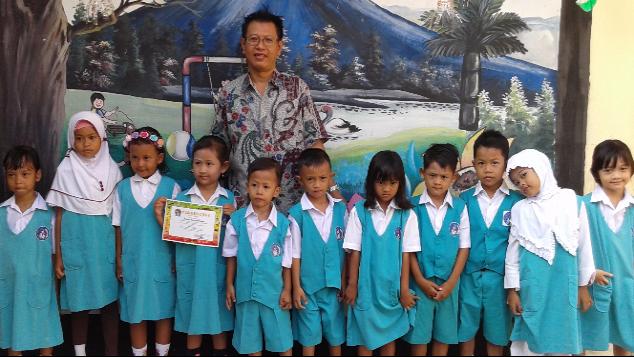 Sekolah Gratis TK Puspita Sari Bekasi