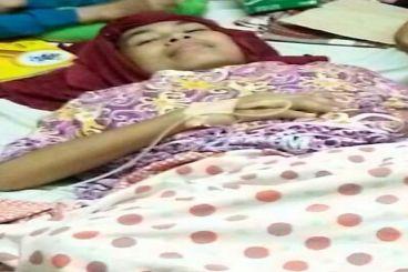 Adry Novhyta R Penyandang Kanker Sarkoma Gluteus