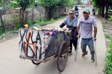 Bantu Yolandi Untuk Motor Penyandang Disabilitas