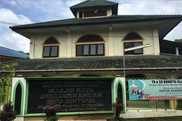 Membangun Bersama Masjid Jabalurrahmah