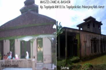 #SedekahMasjid Al-Bashor, Pakenjeng Garut