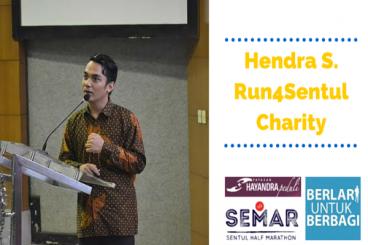 SentulCharity #1 - Hendra Suryakusuma