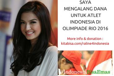 Raline Untuk #IndonesiaBisaEmas