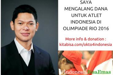 Okto Untuk #IndonesiaBisaEmas