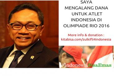 Zulkifli Untuk #IndonesiaBisaEmas