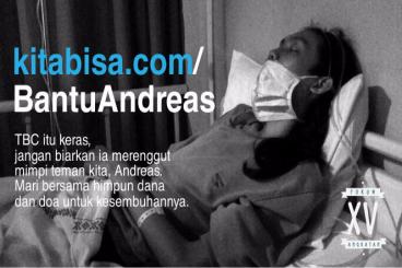 Bantu Andreas Sembuh Dari TBC