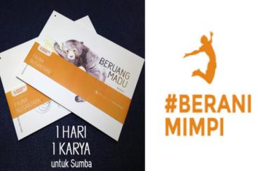 #BERANIMIMPI - 1 Hari 1Karya untuk Sumba