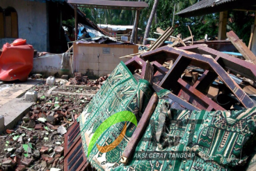 Bangun Kembali Mushola kampung Sukadiri, Tangerang