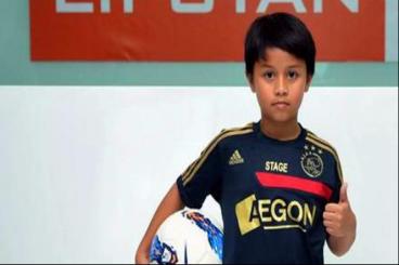 Beasiswa untuk Tristan Alif - Messi dari Indonesia