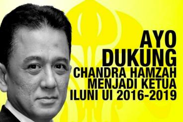 Dukung Chandra Hamzah Jadi Ketua ILUNI UI