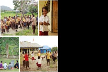 Sepatu Sekolah Bagi Siswa/i SD Negeri Saralema