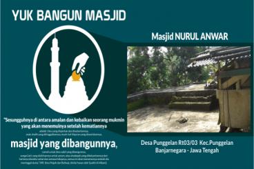 Donasi Untuk Masjid Nurul Anwar