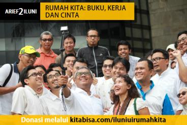 #Arief2Iluni - Rumah Kita: Buku, Kerja dan Cinta