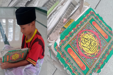 Donasi Al-Quran Baru untuk adik-adik di Desa