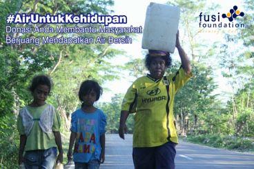 Bantu Keluarga Dhuafa Memiliki Akses Air Bersih