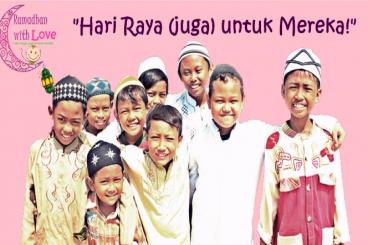 Patungan THR Untuk Yatim & Dhuafa Di Papua & Jawa