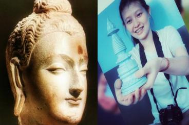 Napak Tilas Raja Ashoka, Membuat 100.000 Stupa