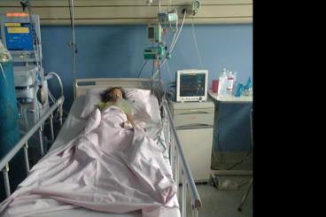 Bantu dana ICU Rajwa (DB, pendarahan otak)