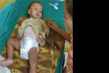 Bantu Balita umur 2 tahun Anggita melawan DBD