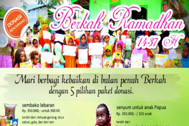 Berkah Ramadhan Untuk Papua