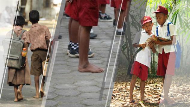 Bantu Donasi Sepatu Sekolah Untuk Adik Kita di NTB