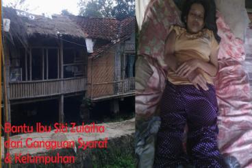 Bantu Siti,, Lumpuh & Gangguan Syaraf dari bandung