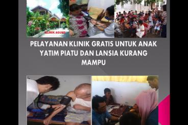 Klinik Gratis Untuk Yatim Piatu & Lansia
