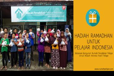 Hadiah Ramadan untuk Pelajar Indonesia