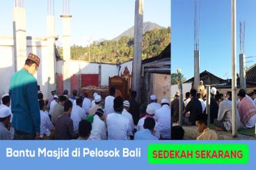 Yuk Bantu Renovasi Masjid Daerah Pelosok Minoritas