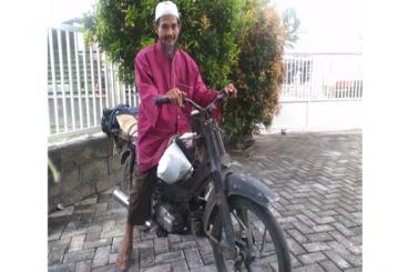 #SedekahMotor Untuk Pak Maksum