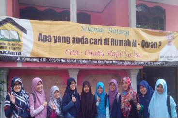 Yuk Selamatkan Rumah Quran Pasar Minggu