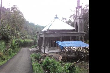 Bantu Lanjutkan Pembangunan Musholla Desa Pelosok