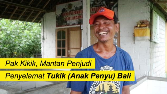 Bantu Pak Kikik Selamatkan Penyu di Bali