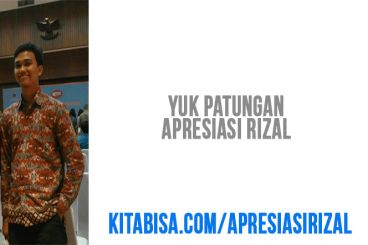 Apresiasi Rizal, Mahasiswa Sastra Arab UI